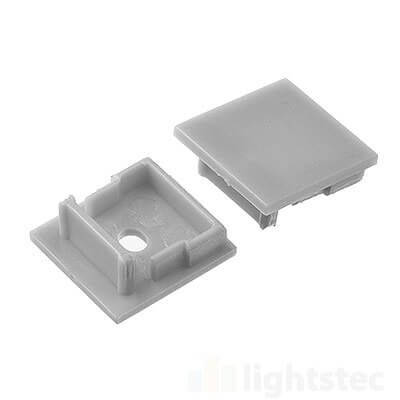 lt-1602 led profile end cap