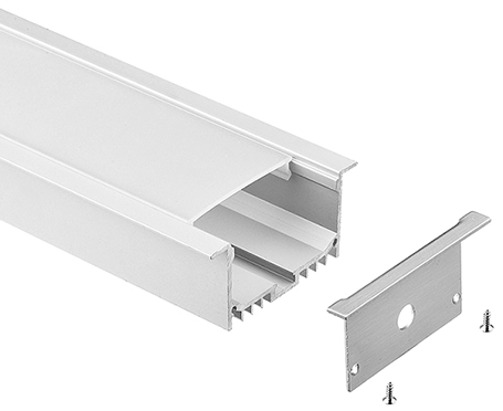 LT-7032 Big Recessed Led Aluminum Profiles for led strip light - Lightstec