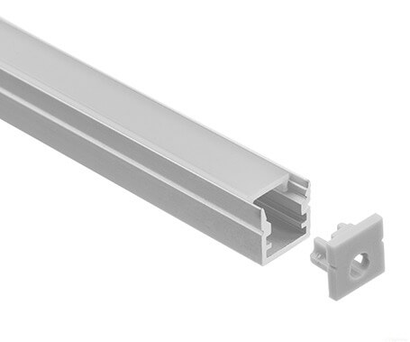 LT-1010 Led Mini Aluminum Profiles Extrusions for led strip light - Lightstec