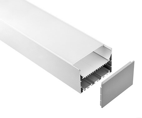 LT-10270 Big Size Led Aluminum Profiles With Driver Space- Lightstec