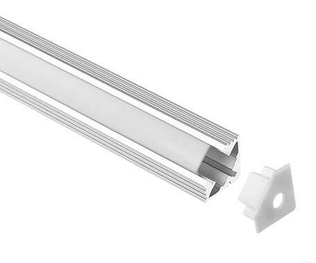 LT-1101 Corner Led Aluminum Profile Extrusion for led strip lights-Lightstec