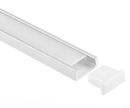 LT-1102 Flat Led Aluminum Profiles Extrusions for led strip light-Lightstec