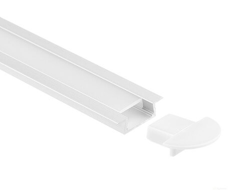 LT-1104 Mini Recessed Led Aluminum Profiles for led strip light - Lightstec