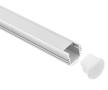 LT-1106 Round Led Aluminum Profile Extrusion for led strip light- Lightstec