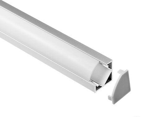T-1203 Corner Led Aluminum Profile Extrusion for led strip light - Lightstec