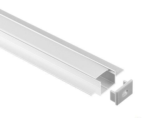 LT-3813 Recessed  Led Aluminum Profile Extrusion for strip light- Lightstec