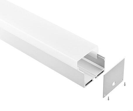 LT-5550 Led Aluminum Profiles Extrusions for led strip light - Lightstec