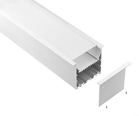 LT-9176 Recessed Led Aluminum Profiles Extrusions for led strip light - Lightstec