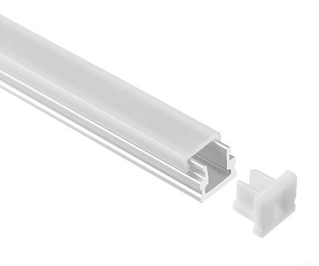 LT-07 Surface mount Led Aluminum Profiles Extrusion small size -Lightstec