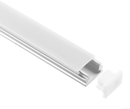 LT-08 surface mount small size Led Aluminum Profiles Extrusion- Lightstec