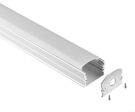 LT-10 Surface mount Led Aluminum Profile Extrusion led channel-Lightstec