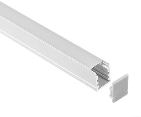 LT-1215 Surface mount Led Aluminum Profiles Extrusions factory-Lightstec