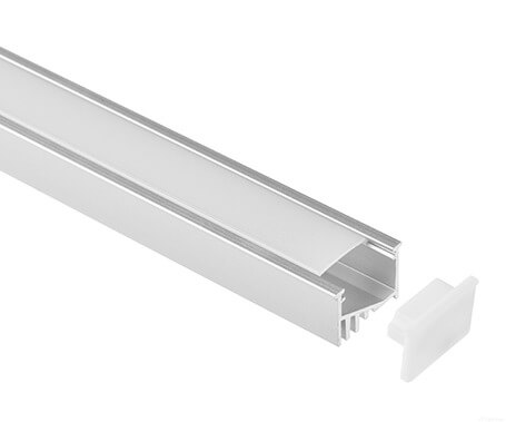 LT-16 Led Aluminum Profiles Extrusions with angle- Lightstec