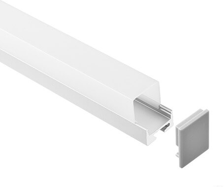 LT-1604 Led Aluminum Profiles Extrusions with higher diffuser - Lightstec
