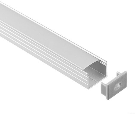 T-1605 Led Aluminum Profiles Extrusions With diffuser - Lightstec