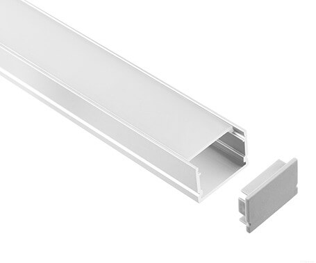 LT-2006 Led Aluminum Profiles Extrusions with cover - Lightstec