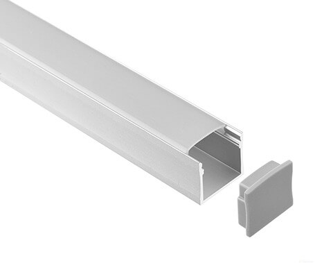 LT-2007 Led Aluminum Profiles Extrusions with diffuser - Lightstec