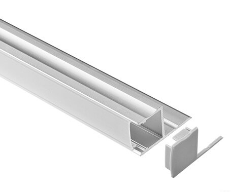 LT-2009 Led Aluminum Profiles Extrusions with right angle - Lightstec