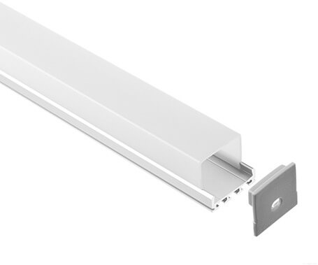 LT-2402 Led Aluminum Profiles Extrusions with high cover- Lightstec