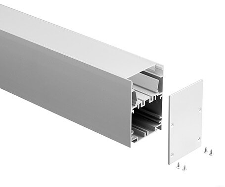 LT-5075 Led Aluminum Profiles Extrusions for led linear light- Lightstec