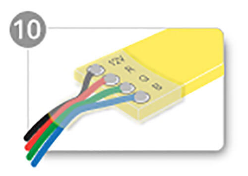 led strip light heat shrink