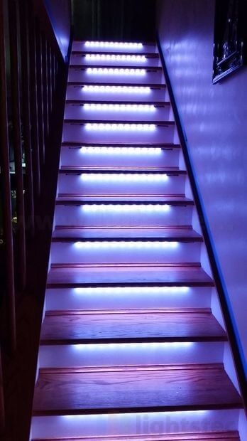 Led Strip Light For Stair