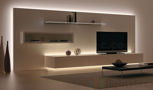 lightstec led strip light using for ceiling