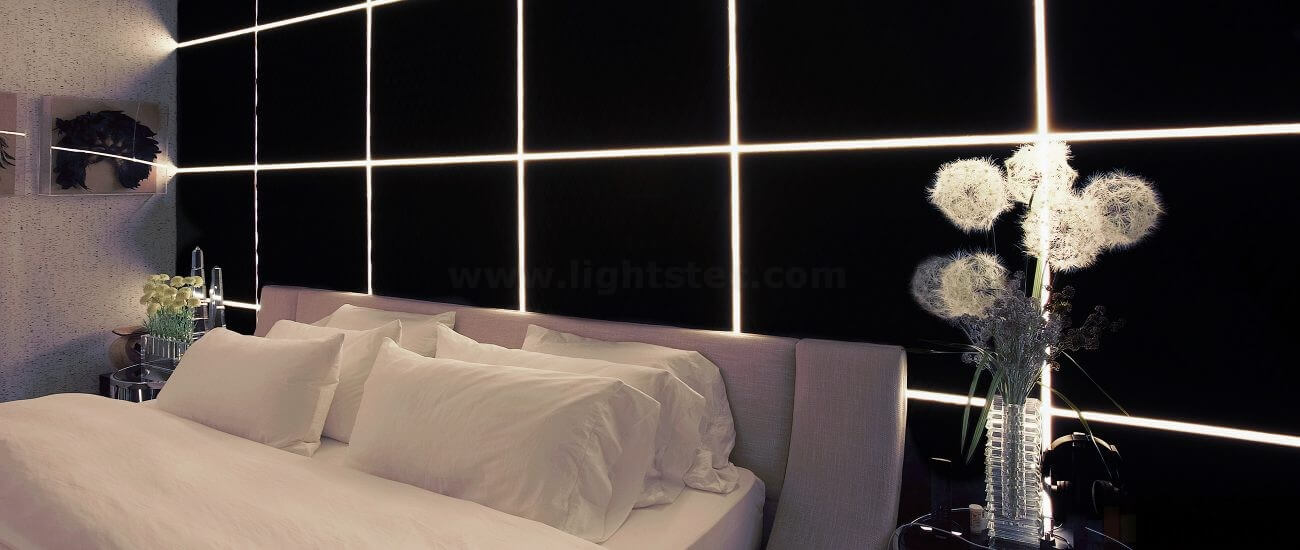 Lightstec- led linear light for bedroom using (2)