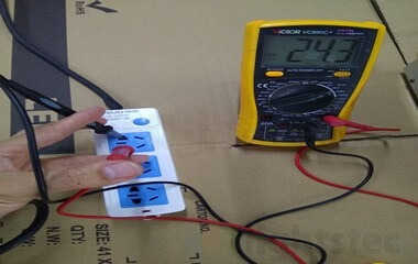 led strip light and long cable voltage drop test 3