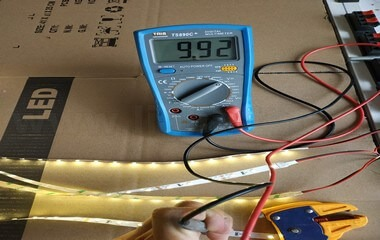 led strip light voltage drop 12v test (3)