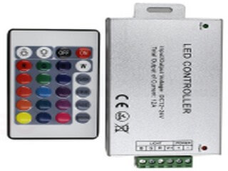 IR 24 key RGB controller (single layer PCB) LT-IR-24Y