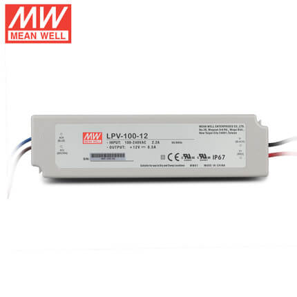 led power supply lpv-100