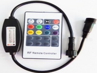 Mini RF 20 key single color controller (waterproof) LT-WP-02