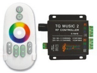 RF touch music RGB controller LT-MUSIC-02