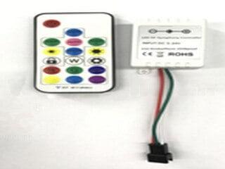 RF17 key magic color controller LT-RFQ-17K