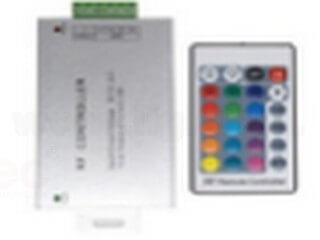 RF24 key aluminum shell RGB controller LT-RFY-24K