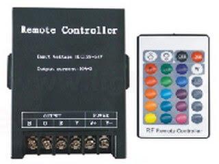 RF24 key iron shell RGB controller(360W)LT-RFH-24K