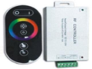 RF6 key aluminum shell RGB controller LT-RFT-09