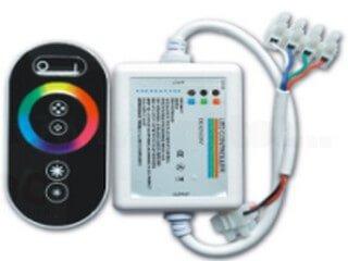 RF6 key plastic shell RGB controller LT-RFT-11