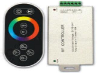 RF8 key aluminum shell RGB controller LT-RFT-10