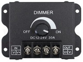 Single color dimmer LT-knob-M1