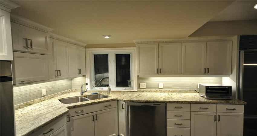 Led-strip-light-use-in-kitchen-cabinet