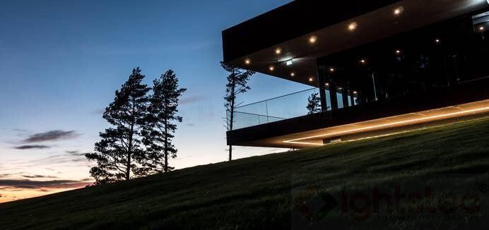led linear light use in Golf club lighting (2)