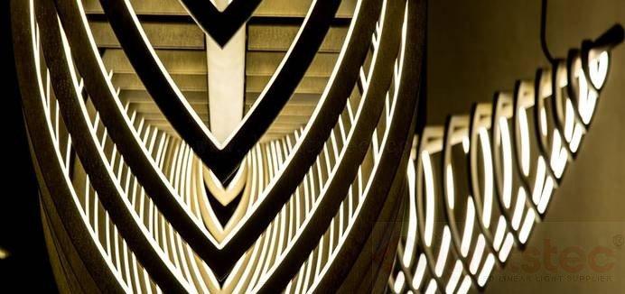 led linear light use in Restaurant lighting (3)