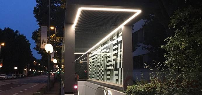 led linear light use in University (1)