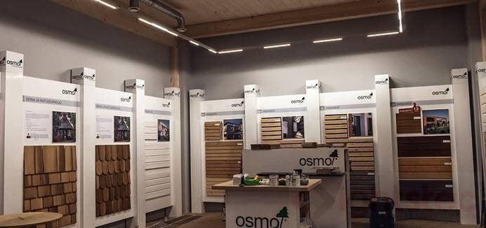 led linear light use in showroom lighting (2)