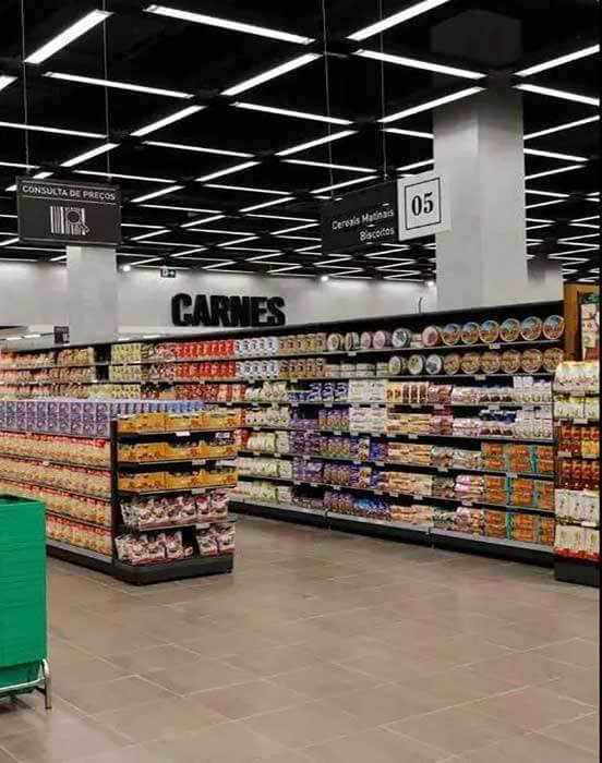 led linear light use in supermarket 2
