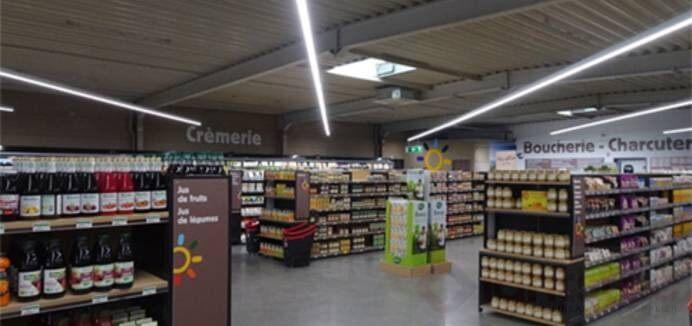 led linear light use in supermarket lighting (1)