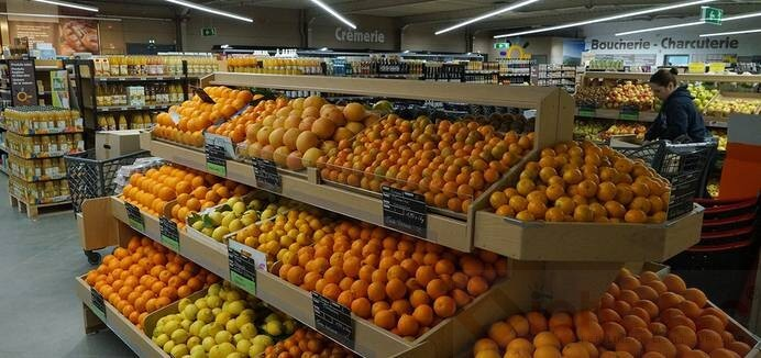 led linear light use in supermarket lighting (5)