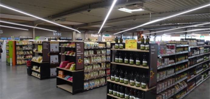 led linear light use in supermarket lighting (7)